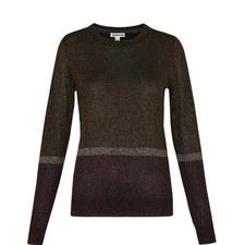 Colour Block Sparkle Knit