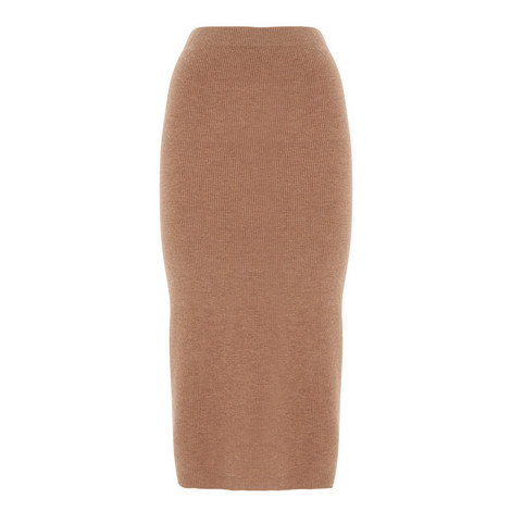 Cashmere Mix Knit Skirt, ${color}