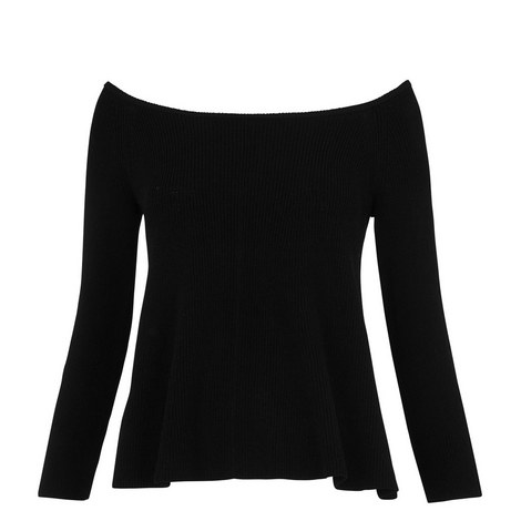 Bardot Fit-and-Flare Sweater, ${color}