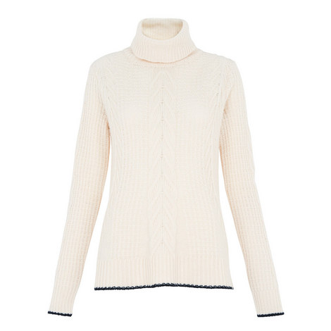Bo Turtleneck Trapeze Knit, ${color}