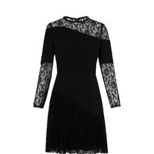 Lois Pleated Dress