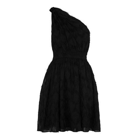 Rosanna One Shoulder Dress, ${color}