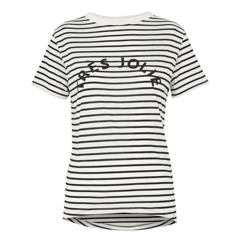 Tres Jolie Stripe T-Shirt, ${color}