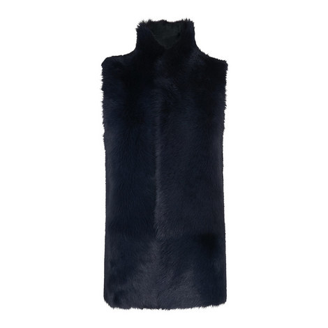 Sheepskin Reversible Gilet, ${color}