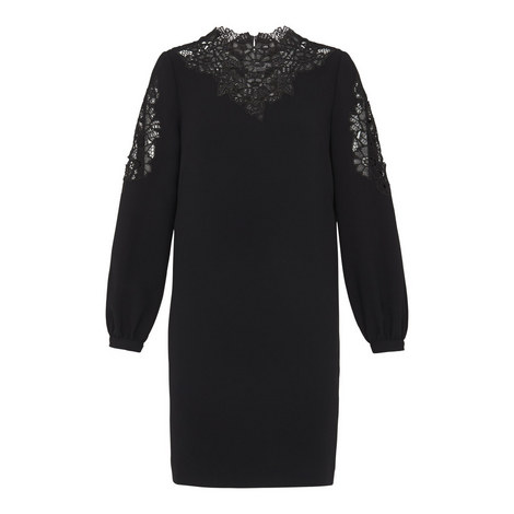 Briar Cutwork Shift Dress, ${color}
