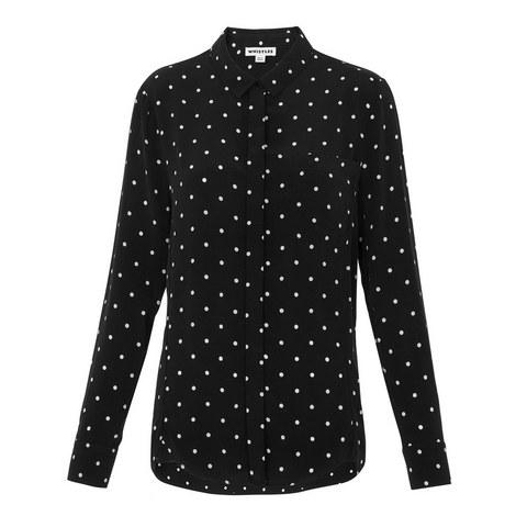 Emelia Polka Dot Shirt, ${color}