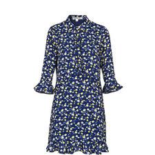 Bell Flower Shirt Dress