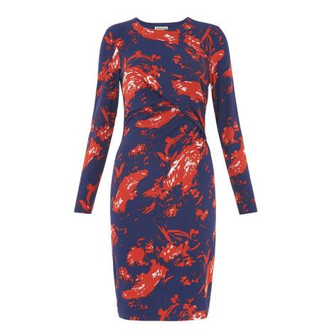 Isobel Floral Jersey Dress, ${color}