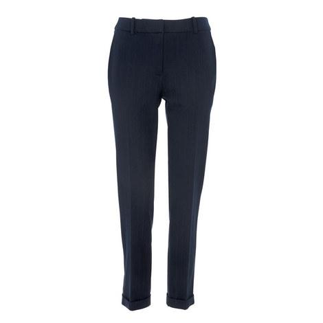 Sadie Pinstripe Trousers, ${color}