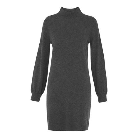 Juliet Funnel Neck Knit Dress, ${color}