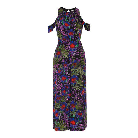 Mia Floris Silk Jumpsuit, ${color}