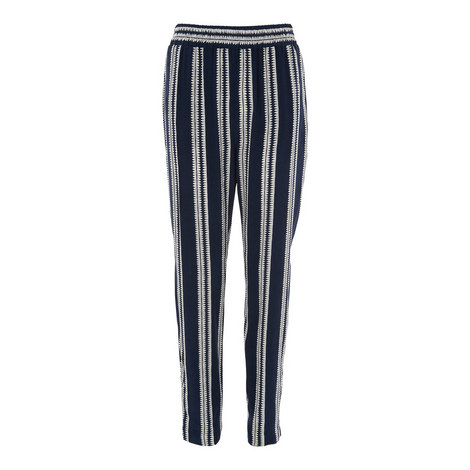 Stripe Printed Trousers, ${color}
