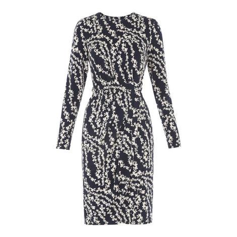 Danah Floral Bodycon Dress, ${color}