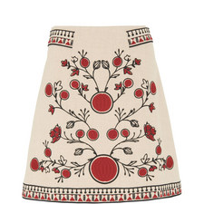 Delia Embroidered Skirt