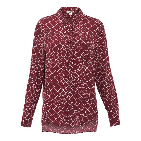 Emelia Giraffe Print Shirt, ${color}