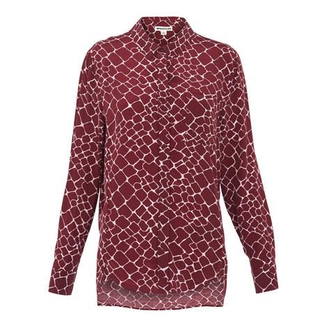Emelia Giraffe Print Shirt, ${color}
