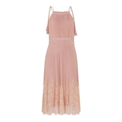 Lilian Plissé A-Line Dress, ${color}