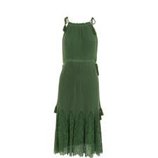 Lilian Pleated Midi Dress