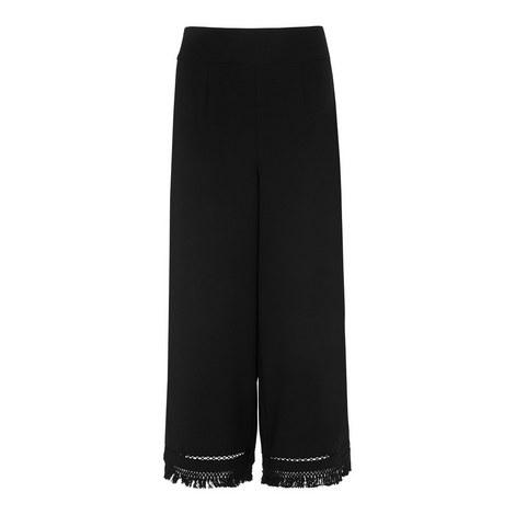 Tassel Trim Trousers, ${color}