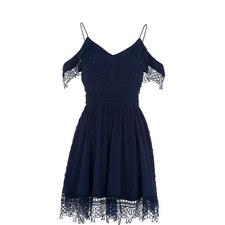 Issa Cold-Shoulder Mini Dress