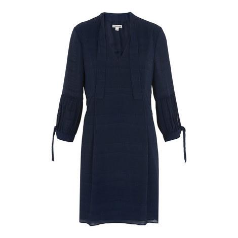 Joanna Textured Tie Sleeve Dress, ${color}