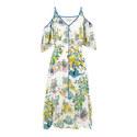 Off-Shoulder Drop Waist Dress, ${color}