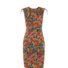 Sicily Print Bodycon Dress