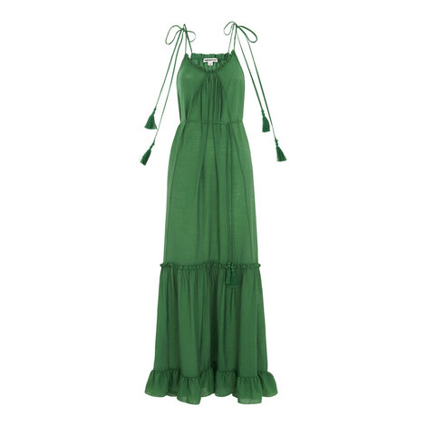 Tassel Tie Maxi Dress, ${color}