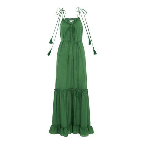 Tassel Tie Maxi Dress, ${color}