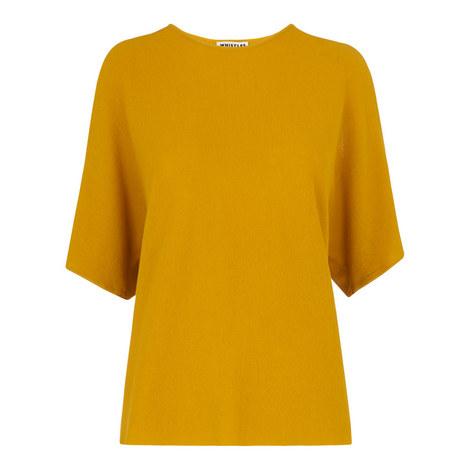 Split Shoulder Cotton T-Shirt, ${color}