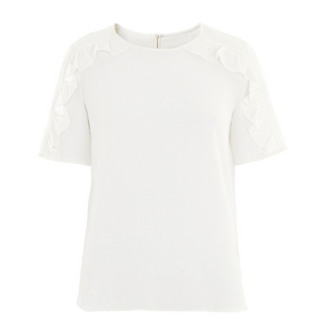 Stefanie Frill Shoulder Top, ${color}
