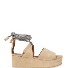 Molino Platform Rope Sandals