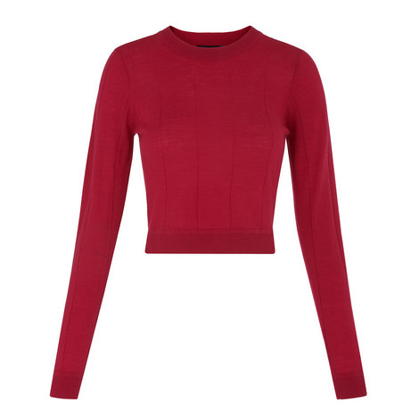 Cropped Merino Knit, ${color}