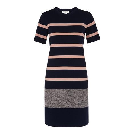 Stripe T-Shirt Dress, ${color}