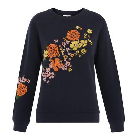 Tangerine Dream Embroidered Sweatshirt, ${color}