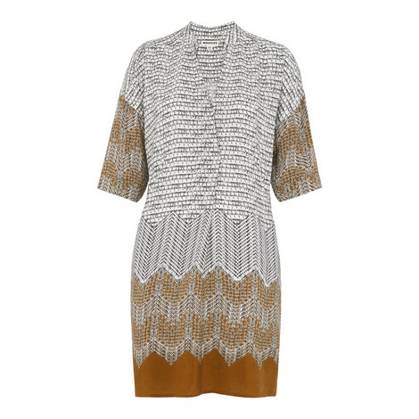 Luna Aztec Print Dress, ${color}
