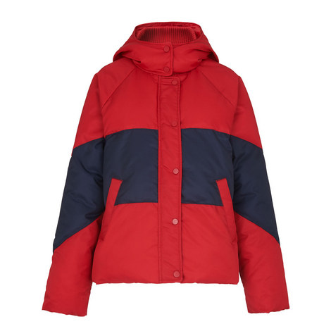 Iva Colour Block Quilted Jacket, ${color}
