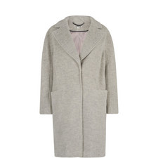 Dara Brushed Wool Cocoon Coat