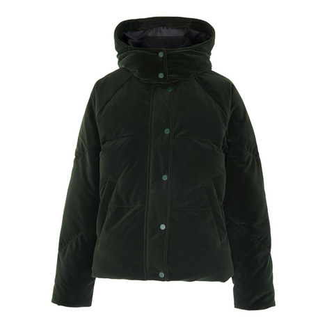 Iva Velvet Puffa Jacket, ${color}