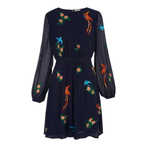 Aria Birds of Paradise Dress, ${color}