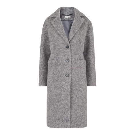 Drawn Single Breasted Coat, ${color}