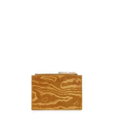 Woodcut Velvet Coin Purse, ${color}