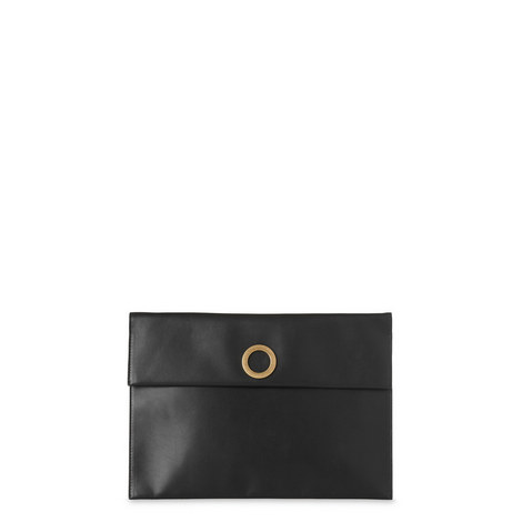 Willow Eyelet Clutch Medium, ${color}