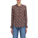 Apple Print Blouse, ${color}