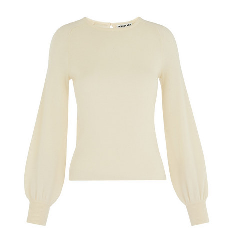 Blouson Sleeve Knit, ${color}