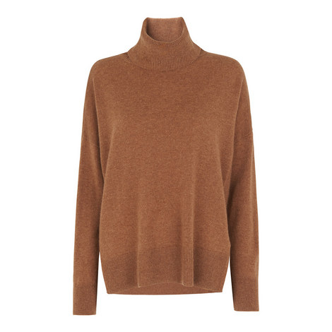 Cashmere Roll Neck Knit, ${color}