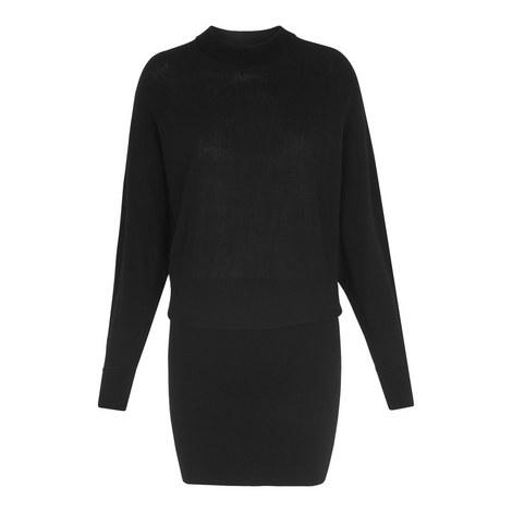 Knit Bodycon Dress, ${color}
