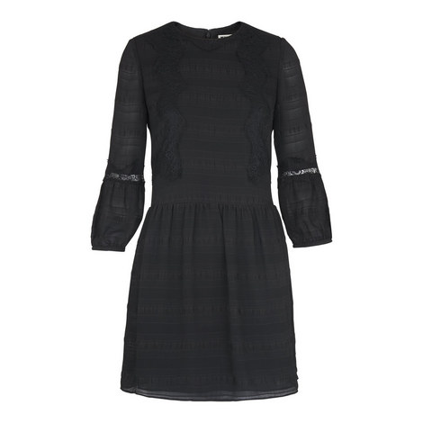 Sydney Lace-Mix Dress, ${color}