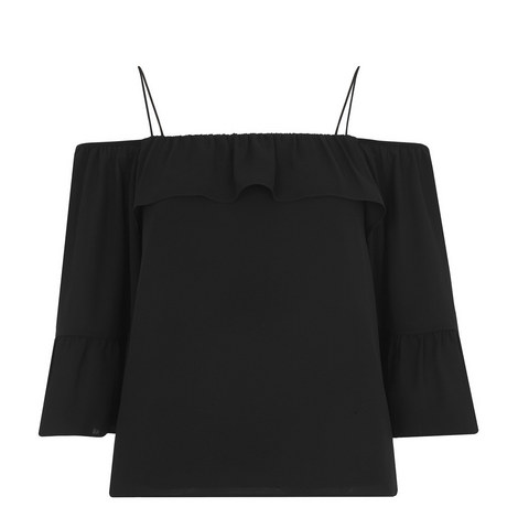 Hayley Bardot Blouse, ${color}