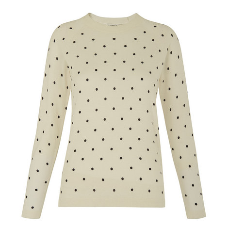 Polka Dot Sweater, ${color}